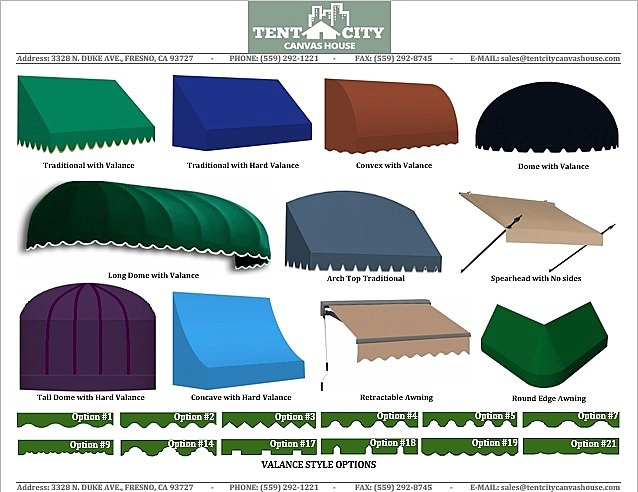 Awnings Tent City Canvas House