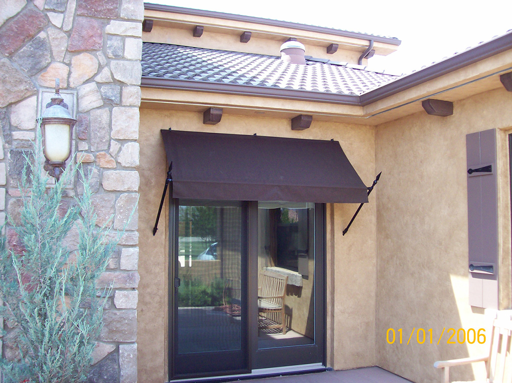 Residential Awnings | Tent City Canvas House